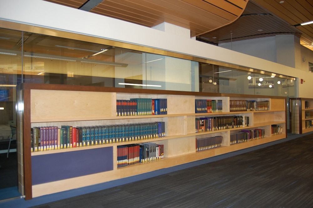 UMass-Lowell-library-shelves